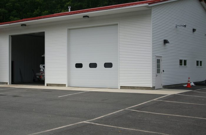 Commercial Finished Construction – Fire House