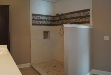 Residential Finished Master Bath