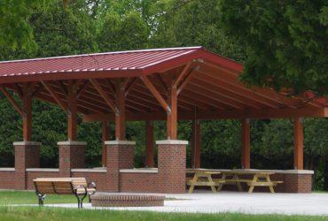 Polaris Pavilion & Comfort Station Saratoga State Park